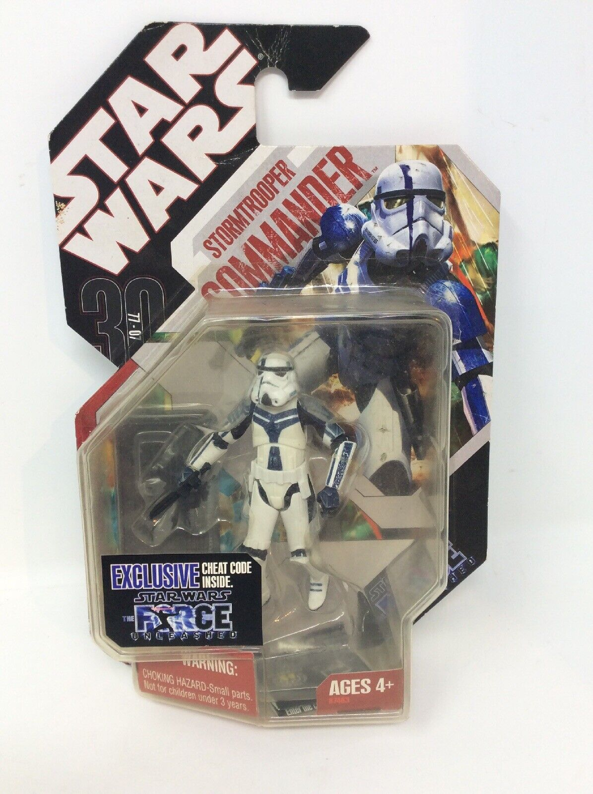 Star Wars Force Unleashed Unleashed Unleashed Stormtrooper Commander Exclusive Figure cbe18b