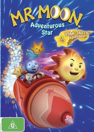 1 of 1 - Mr Moon: Adventurous Star DVD R4 Kids Childrens