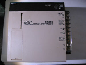 OMRON-C200H-PS221-Power-Supply-Module-for-Programmable-Controller-Back-w-Term
