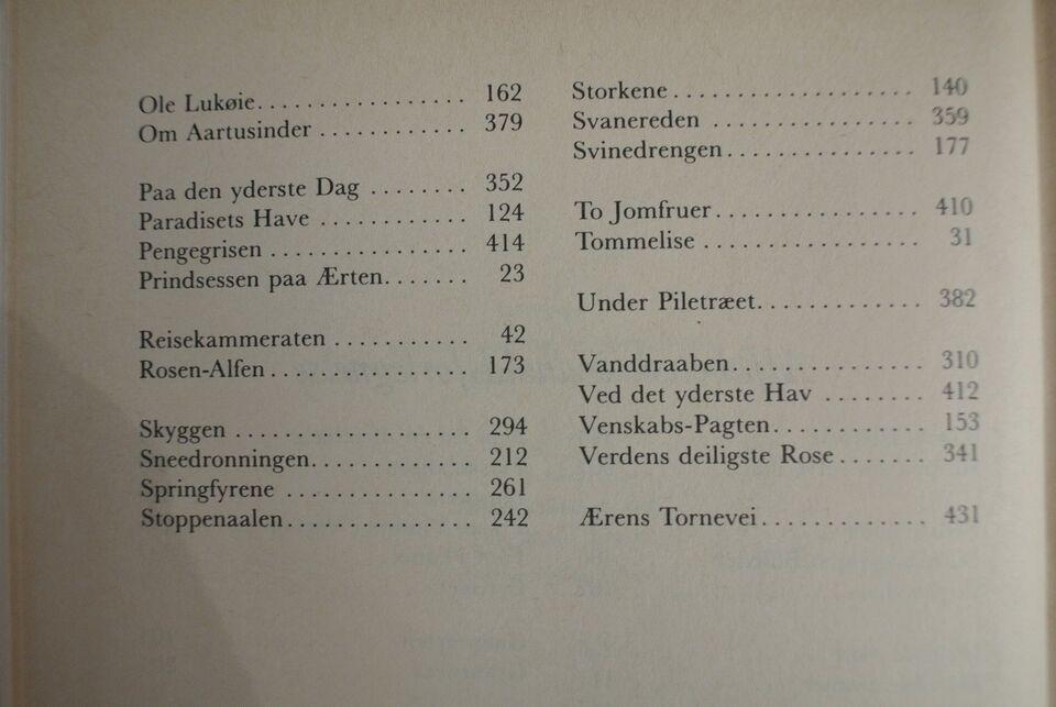 81 eventyr, h.c. andersen. ill. af vilhelm petersen,