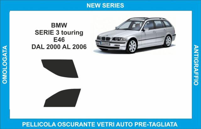 pellicole oscuranti vetri bmw serie 3 e91 touring dal 2006 al 2011 A