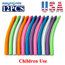 12x Saliva Ejector Tips Dental Evacauation Strong Suction Vented Hve Tip Kid Use