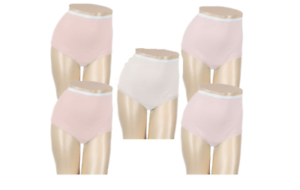 b1a06994213e Breezies Set of 5 Cotton Brief Panties w/UltimAir-PASTEL-SIZE 9-NEW ...