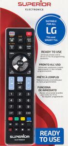 TELECOMANDO UNIVERSALE PER TUTTE TV MARCA LG LCD SMART LED TV 3D COME ORIGINALE