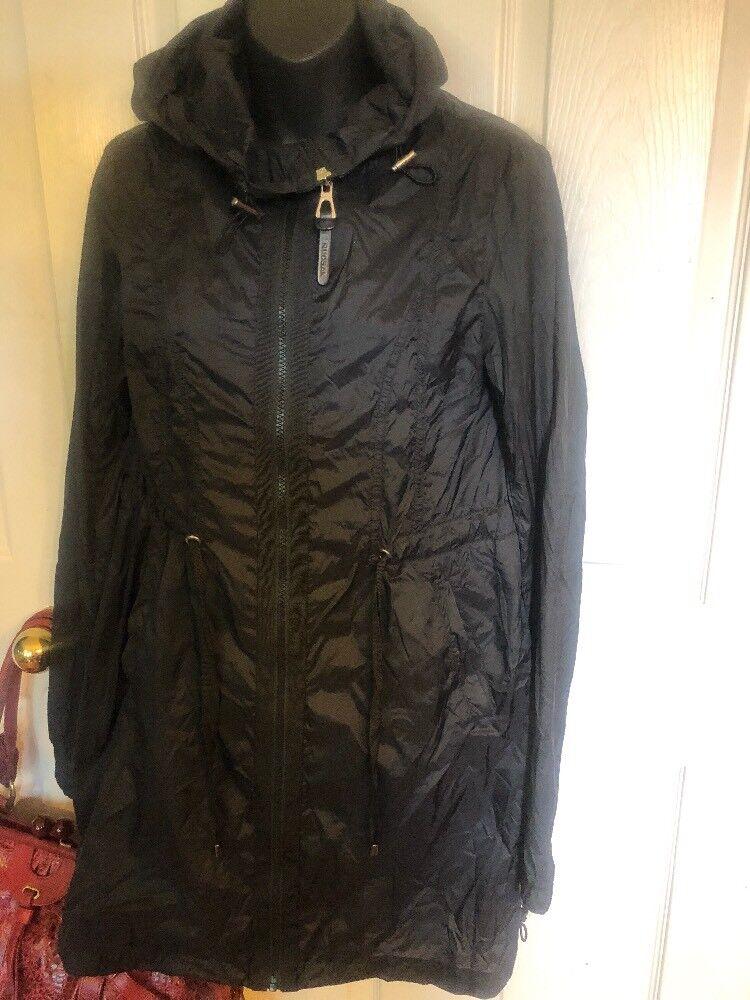 Rudsak Stylish Zipped Winbraker Rain Coat Sz S P Ret