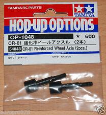 Tamiya 54048 CR-01 Reinforced Wheel Axle (2 Pcs.) (CR01/Crawler/Bronco/Unimog)