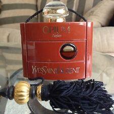 Yves Saint Laurent OPIUM Paris 15ml Perfume Bottle 60% Left 80's OLD FORMULA