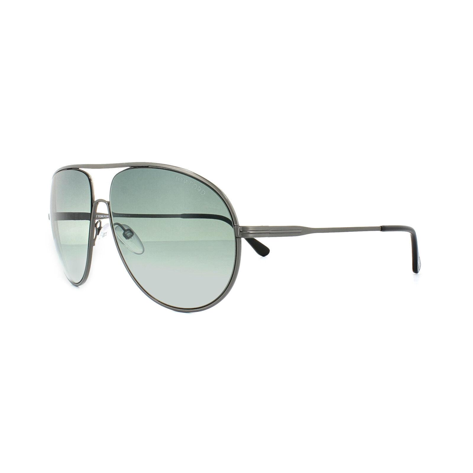 94cd932cf8 Tom Ford Sunglasses Men TF 450 Gunmetal 09b Cliff 61mm for sale ...