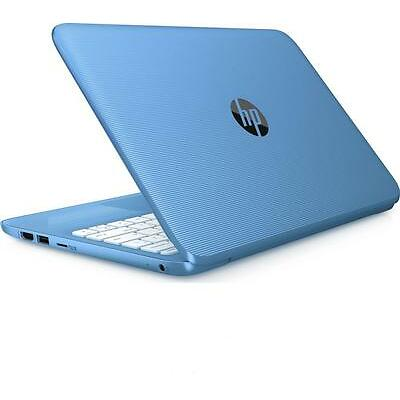 "HP Stream 11-y050sa 11.6"" Laptop - Aqua Blue Intel® Celeron™ Processor N3060"