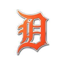 New MLB Detroit Tigers Car Truck Auto 3-D Aluminum Color Emblem Sticker Decal