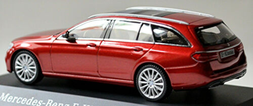 Mercedes e class T-Model 2018-20 s213 hyacinth red rojo metalizado 1:43 iscale
