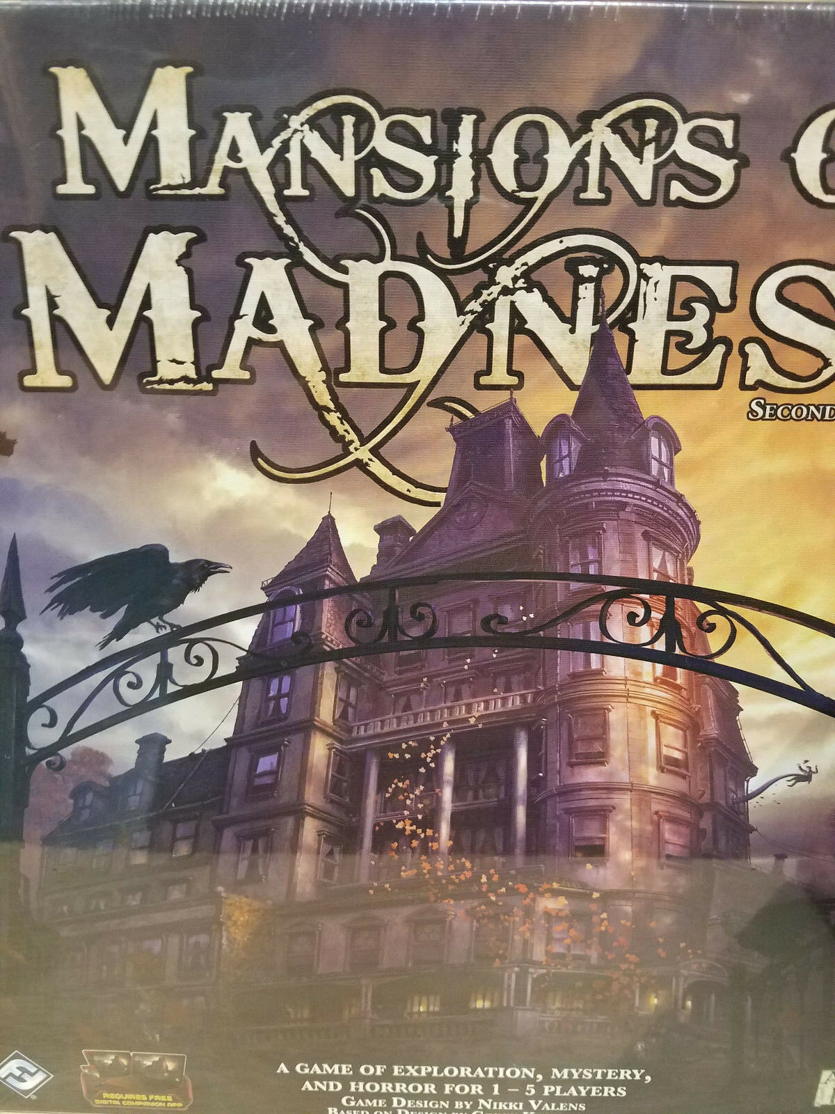 Mansions of Madness 2nd Edition - Board Game Fantasy Flight Games New  Core Base