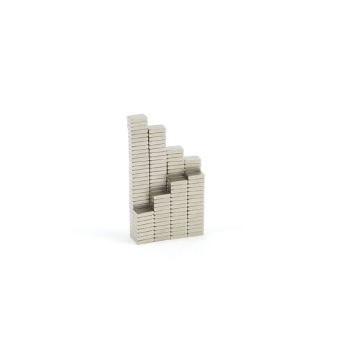 50 Dünn Neodym Blockmagnete 3mm X 2mm X0.7mm N52 Stark Handwerk Kühlschrank