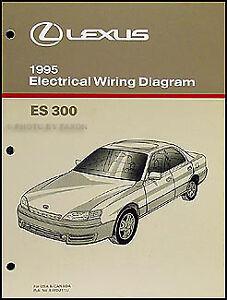 1995 Lexus ES 300 Wiring Diagram Manual Electrical ...