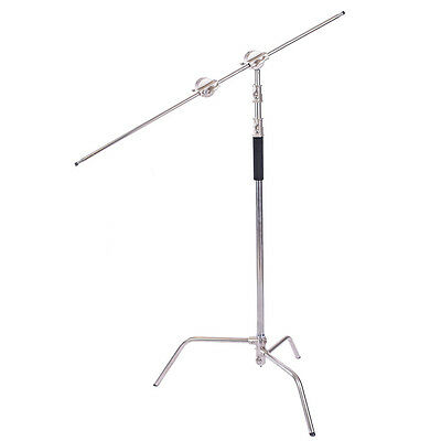 "USED C-Stand & 50"" Extension Arm - Heavy Duty - Detachable Base Pro"