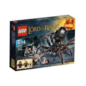 LEGO-Lord-of-the-Rings-9470-Der-Hinterhalt-von-Shelob-Spinne-Herr-der-Ringe-LOTR