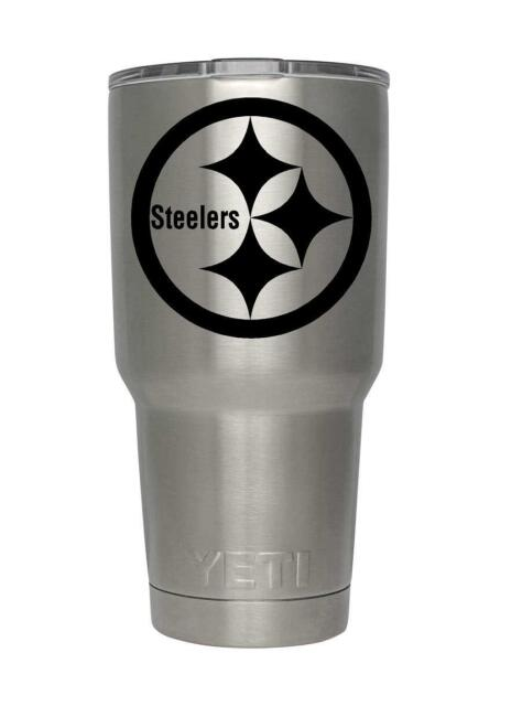 Nfl Pittsburgh Steelers Decal For Yeti Rambler Tumbler 20 30 Ozark Rtic Sticker