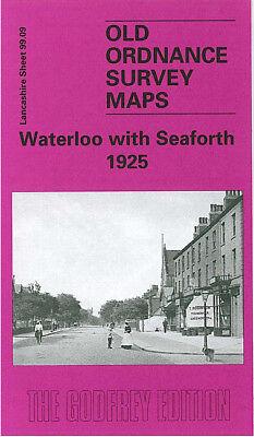 OLD ORDNANCE SURVEY MAP WAVERTREE BROADGREEN 1905 LIVERPOOL BINNS ROAD FIR LANE