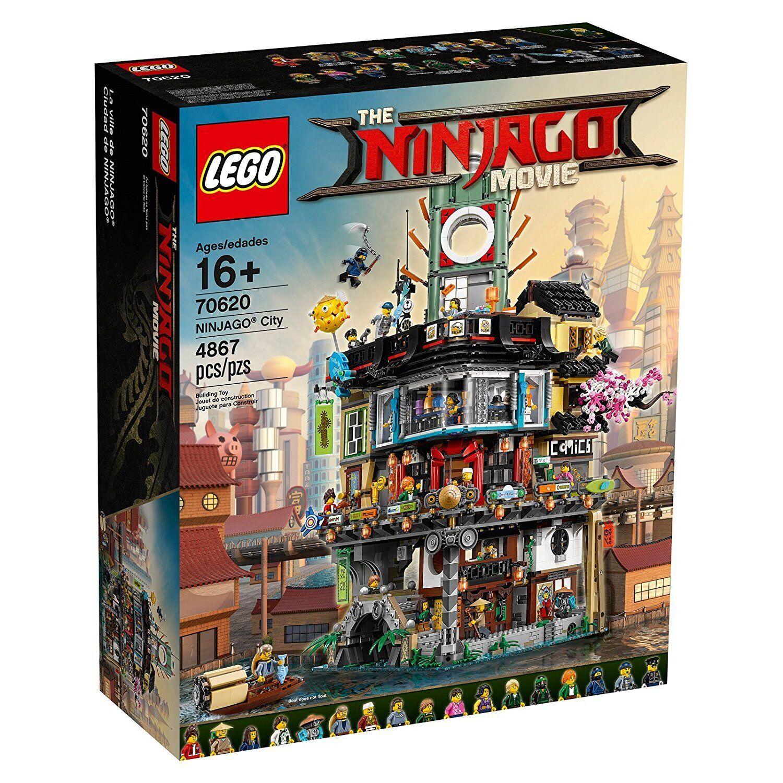 LEGO Ninjago MOVIE-Ninjago City-Limitiertes Set 70620 - 4867 PEZZI NUOVO OVP