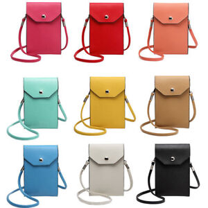 S Pu Leather Mobile Phone Bag Case