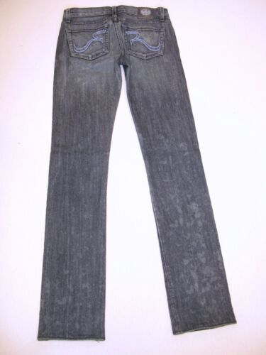 Big Slim 25 Cosbie run Low Sz Rock Distressed Jeans Straight Republic qvnw88IgZ