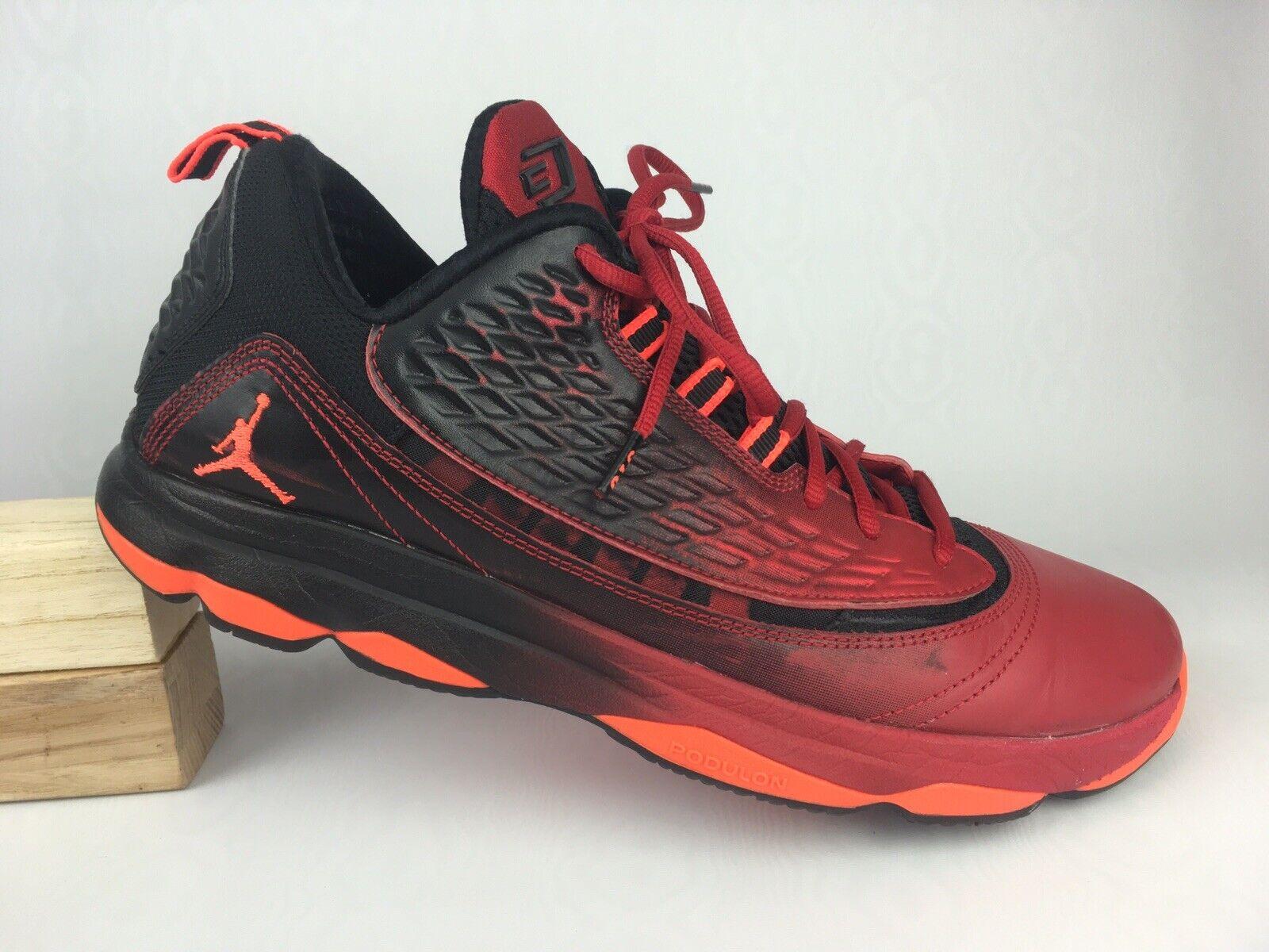 959aadf9a1fd Nike Jordan Cp3 VI AE 580580-608 Red crimson black Size 11.5 ...