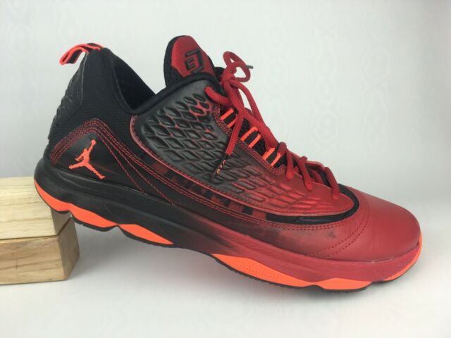 reputable site 98f56 08a1d Nike Jordan Red Crimson Black Cp3 VI AE 580580-608 Basketball Shoes Sz 11.5  US