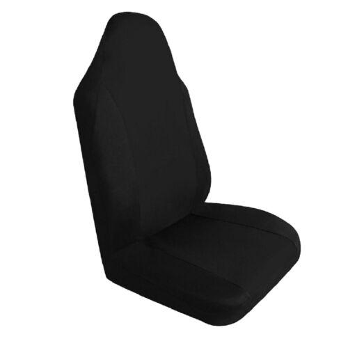 AUTO Universale Anteriore Sedile Singolo Copertura Traspirante Cuscino Pad Mat Nero