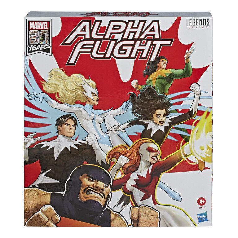 Marvel Legends 6  Alpha Flight Boxset (Amazon Exclusive) IN STOCK