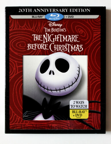 Disney Tim Burton The Nightmare Before Christmas 20th Anniversary ...