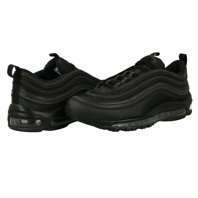 Nike Air Max 97 Triple Black Reflective Running Shoes eBay