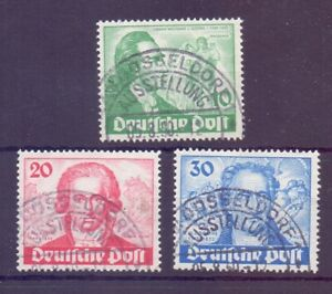 Berlin-1949-Goethe-MiNr-61-63-rund-gestempelt-Michel-180-00-726