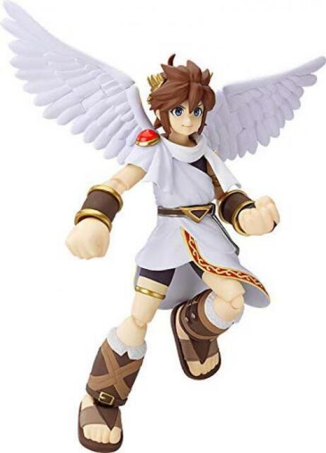 figma Kid Icarus Uprising Pit Figure Max Factory Japan USED