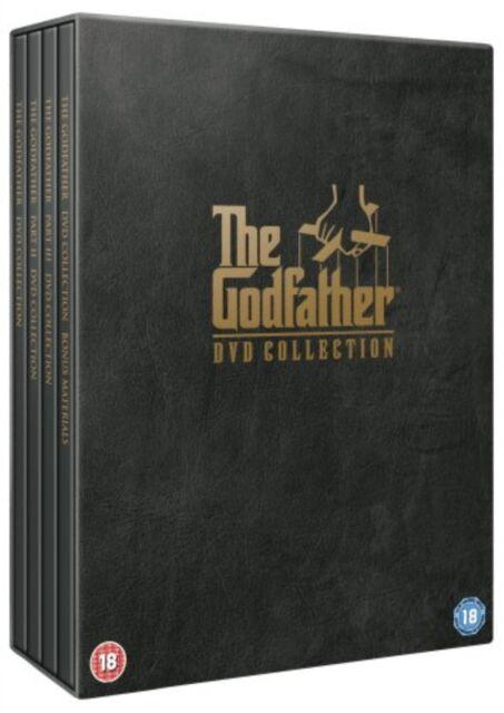 The Godfather Trilogy 5 Disc Box Set Brand New DVD