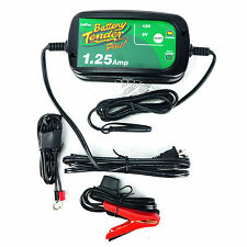 Battery Tender 1.25 Amp Selectable Charger 6 12 Volt 6V 12V Sport Bike Kawasaki