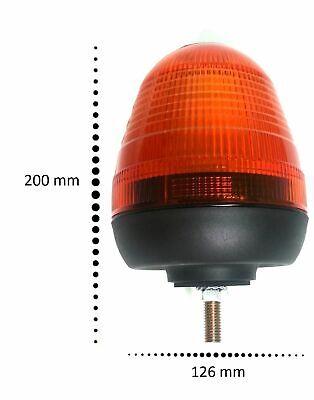 Rundumleuchte Halter Bohrloch Blinklicht Warnleuchte 12//24V Traktor Anhänger