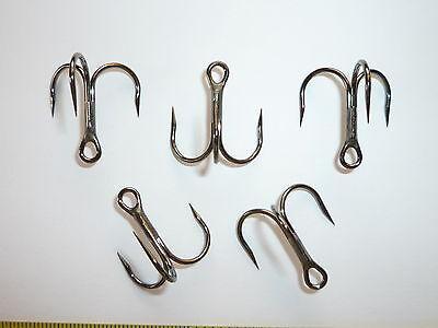 BULK 954 Bronze Size 5 25 Eagle Claw Lazer Short-Shank 3X Treble Hooks