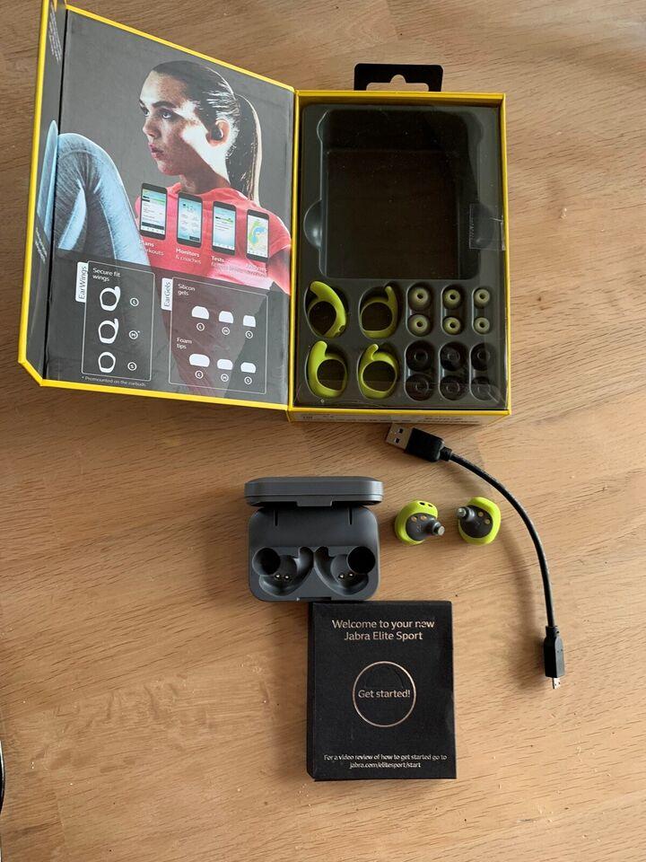 trådløse hovedtelefoner, Jabra, Elite sport