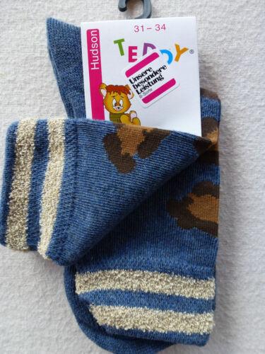 Gr 31-34 Kinder Socken UVP 3,75 € HUDSON Kindersocken 68/% Baumwolle