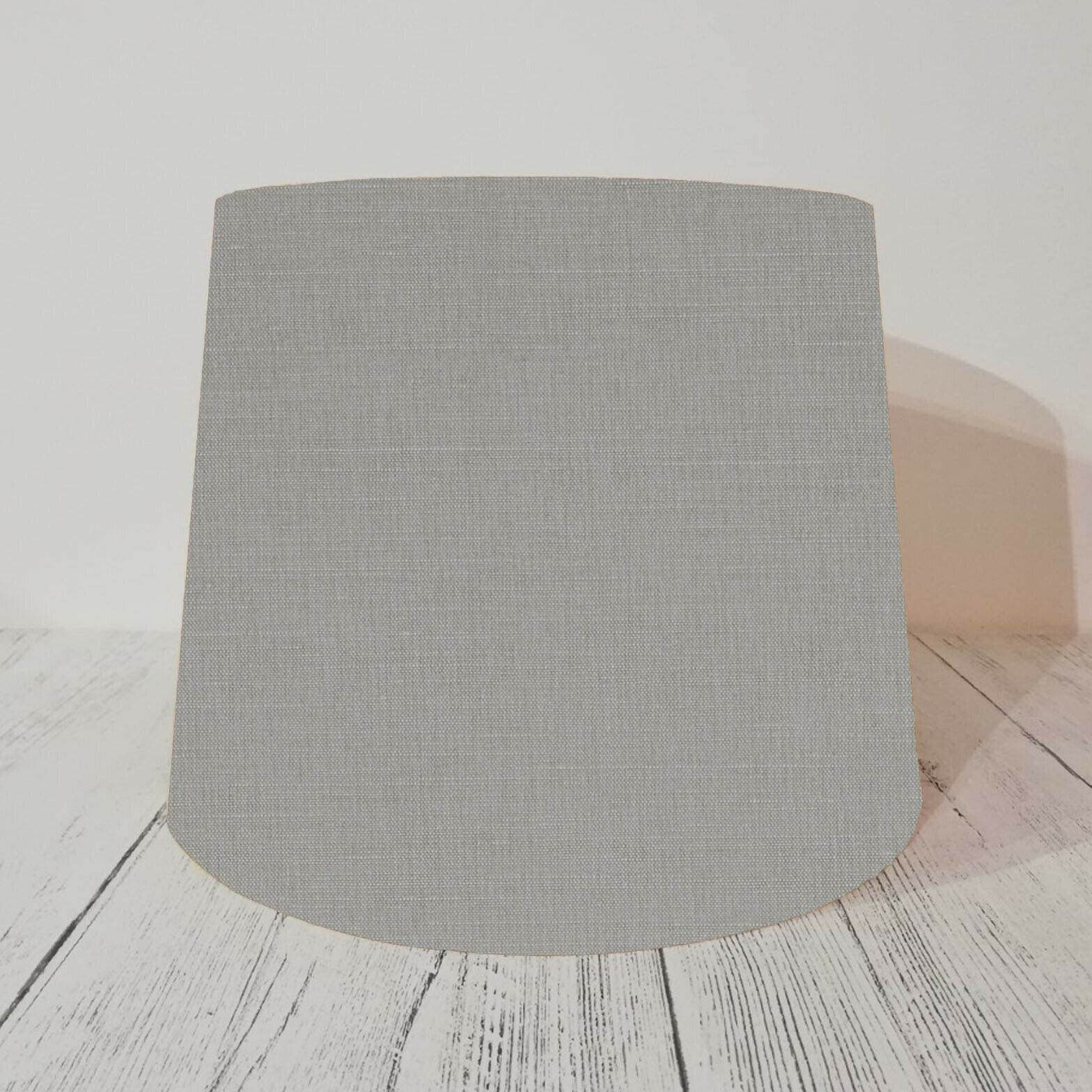 Empire Lampshade made with Laura Ashley in Austen Steel grau Taperot Drum Lamp