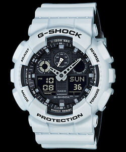 GA-100L-7A-G-shock-Casio-Watches-200m-Resin-Band-Analog-Digital-New-Light