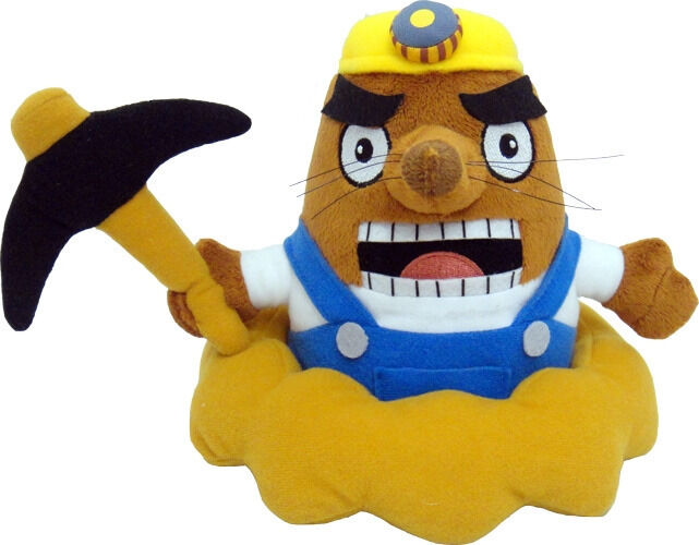 Real New Little Buddy 1303  Animal Crossing New Leaf 7  Mr. Resetti Plush Doll