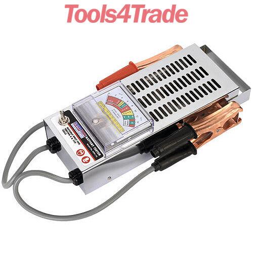 Sealey BT91/7 Car/Van/Motorcycle Battery Cell Load Drop Tester/Testing - 6/12V