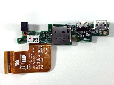 DELL Venue 11 Pro 7130 7139 Micro USB HDMI Charging port Interface Board jackfox