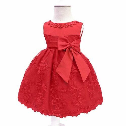 Dress party dresses formal baby bridesmaid wedding flower princess girl kid tutu