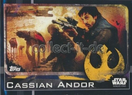 Topps Star Wars-Rogue One 005-Cassian Andor