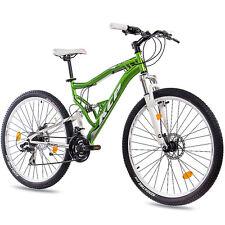 """27,5"""" pulgadas MTB mountainbike bicicleta rueda KCP Attack con 21 marchas Shimano verde Top"""