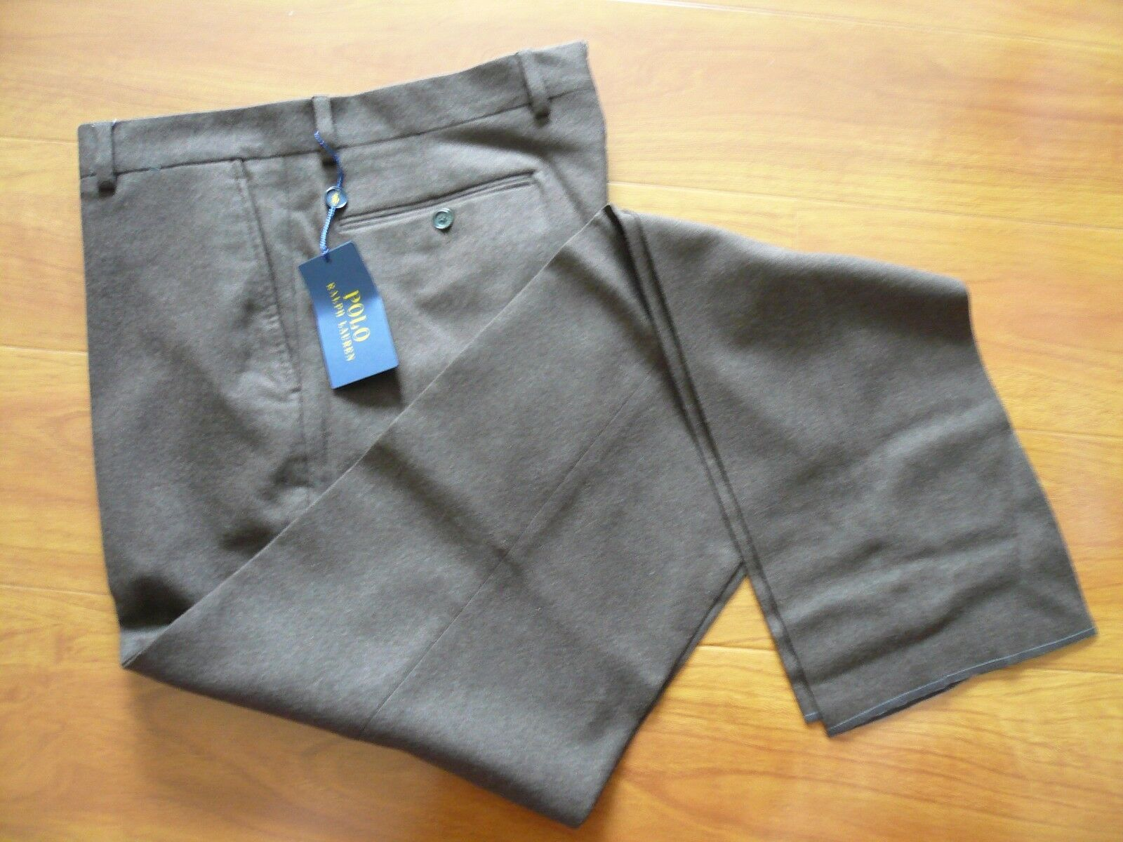 NWT  POLO RALPH LAUREN 100% WOOL DRESS PANTS SZ 30, MADE IN ITALY