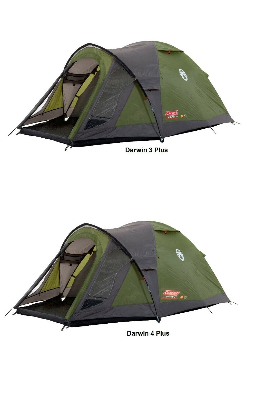 Coleman Darwin 3 Plus oder Darwin 4 Plus Kuppelzelt Zelt
