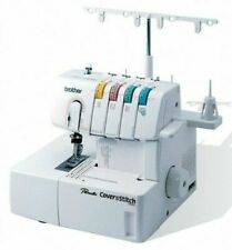 Brother 2340CV 2 & 3 Needle Coverhem Cover Stitch Machine 4 Thread + Bonus Kit!